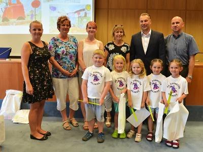 Žáci v Libereckém kraji malovali pro týden bezpečnosti 2017