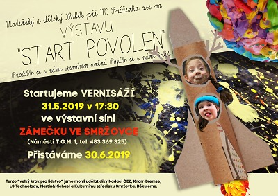 Smržovská výstava Start povolen zve k návštěvě zejména děti