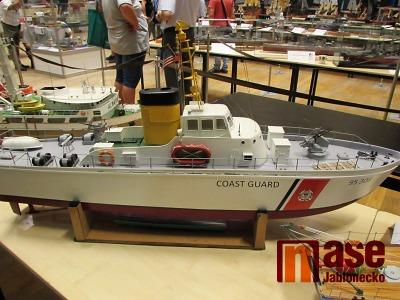 Výstava klubu lodního modelářství objektivem Jany Veselé