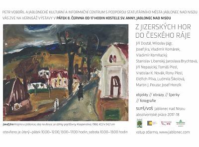Z Jizerských hor do Českého ráje s novou výstavou v kostele svaté Anny
