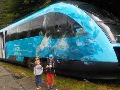 Pokřtili Křišťálový vlak. Bude spojovat Liberec, Turnov a Železný Brod