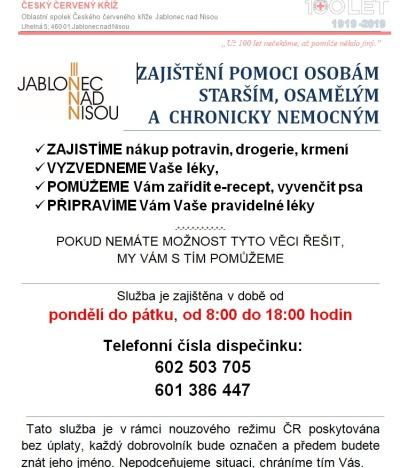 Sociální služby v Jablonci jsou zajištěné