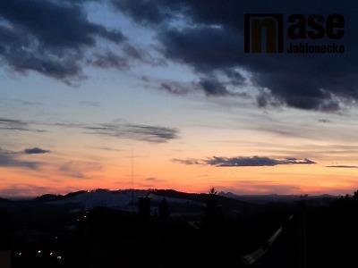 VIDEO: Západ slunce ve Vrkoslavicích