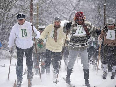 Šestý ročník Pralyže 2016 přilákal lyžce opět do Zásady