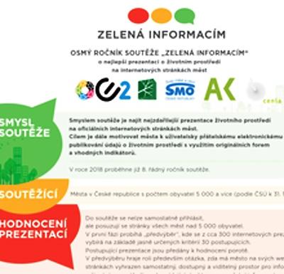 Jablonec je v TOP třicítce Zelené informacím