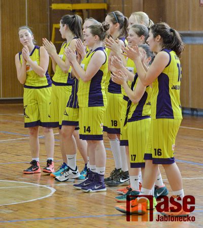 Vítězné loučení basketbalistek s první ligou