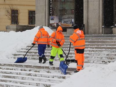 Letošní zima zatím Jablonec stála 17 milionů korun
