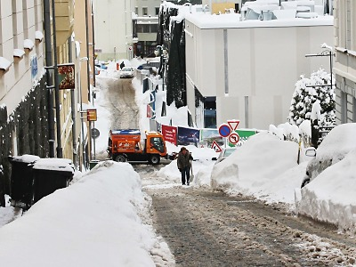 Lednová zima v Jablonci stála město přes 11 milionů korun