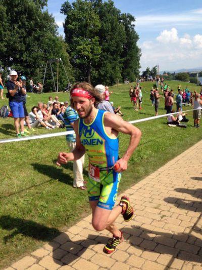 Triatlonista Jan Francke se vrací na triatlonové tratě