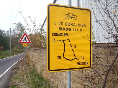 Česko-polský projekt zkvalitní značení cyklotras i na Jablonecku