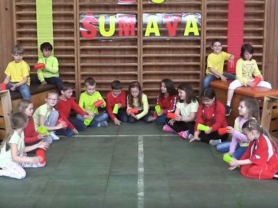 Jablonecká ZŠ Šumava natočila svou verzi klipu Cup Song