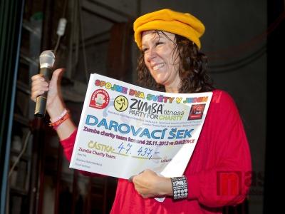 Poděkování partnerům Zumba Charity Smržovka 2012