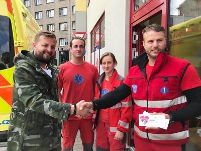 Záchranáři ZZS Libereckého kraje děkují za pomoc i podporu