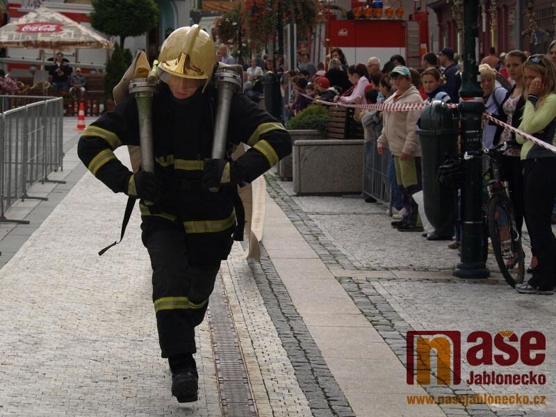 Železný hasič - Krajská soutěž TFA 2011.