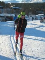 Lyžaři Ski klubu trénují v Bruksvallarně
