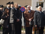 Slavnostní připomenutí 93. výročí vzniku samostatného československého státu  u Památníku obětí 1. světové války v Tyršových sadech.