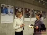 Olga Havlová - vernisáž výstavy v Eurocentru.