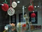 Výstava soutěžních prací z Vánoční soutěže v Eurocentru v Jablonci nad Nisou.