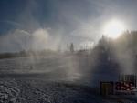 Na Severáku v Hraběticích pilně zasněžují sjezdovky.