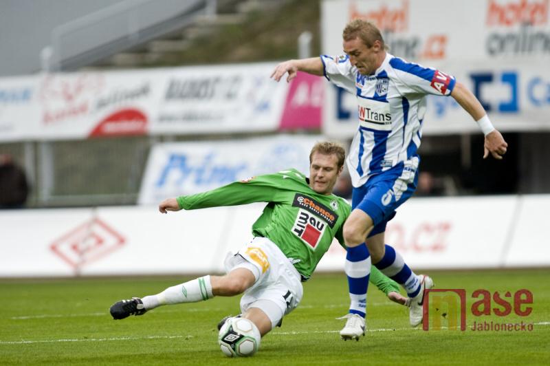 FK Baumit Jablonec zvítězil v utkání s Ústím 2:0.