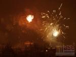 Oslavy příchodu nového roku 2012 v Jablonci nad Nisou.