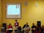 Setkání dobrovolníků Jablonecka ve Spolkovém domě v Jablonci nad Nisou.