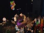 Maškarní Babí hop v Eurocentru v Jablonci nad Nisou.