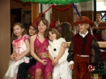 Malý maškarní karneválek v DDM Vikýř v Jablonci nad Nisou.