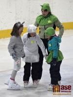 Maškarní rej na ledě, pořádaný DDM Vikýř na Zimním stadionu v Jablonci nad Nisou.