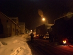 Obrazem: Zapadlý kamion zablokoval cestu do Držkova