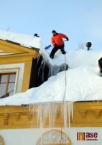 Ve Smržovce napadlo nejvíce sněhu za 45 let