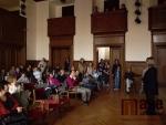 Vernisáž výstavy prací žáků výtvarného oddělení ZUŠ v Jablonci nad Nisou a vystoupení hudební skupiny Nautica.