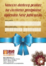 Předplatné týdeníku Naše Jablonecko jako vánoční dárek