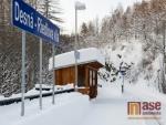 OBRAZEM: Zasněžená Desná v Jizerských horách