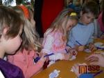 Obrazem: Děti vyráběly vánoční díla