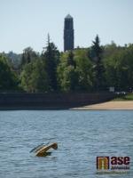 Soutěž Jablonecké hydroplány na jablonecké přehradě.