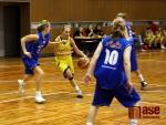Mladé basketbalistky Bižuterie po boji dvakrát neuspěly