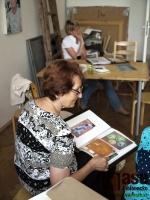 Barvy léta v ateliéru akademické malířky Blanky Brožové.