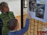 Naučit chodit lidi městem s otevřenými očima chce mnichovský kunsthistorik a velký fanoušek Jablonce Dieter Klein. Účastníci výstavy.