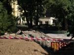 Úpravy Tyršova parku v Jablonci nad Nisou.