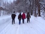 Na Bramberk v mrazu dorazilo přes sto lidí