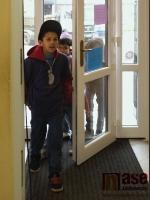 Den otevřených dveří v Nízkoprahovém zařízení Kruháč v Jablonci nad Nisou.