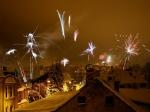 Obrazem: Oslavy Nového roku v Jablonci nad Nisou