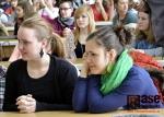 Setkání studentů s primátorem Petrem Beitlem.