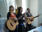 Koncert dívčí skupiny Berušky v kostele Povýšení sv. Kříže