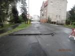 Poškozené silnice v Jablonci nad Nisou - Vodní