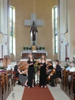 Koncert v kostele Nejsvětějšího Srdce Ježíšova na Horním náměstí v Jablonci nad Nisou