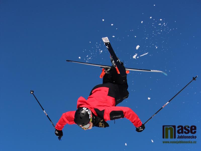 Akrobatický lyžař Daniel Honzig z Jablonce nad Nisou<br />Autor: