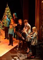 Vánoční vystoupení DPS Vrabčata a Vrabčáci s Ivetou Bartošovou