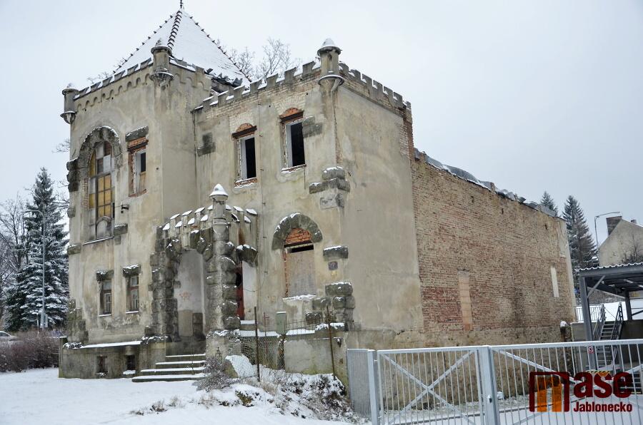 Zámeček Schlaraffia v Jablonci nad Nisou<br />Autor: Jiří Endler